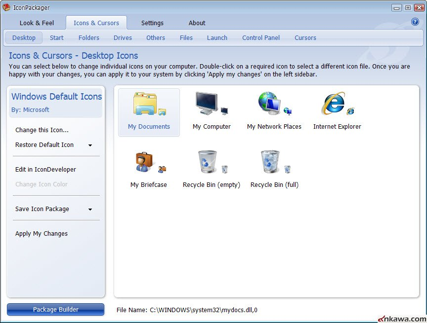 برنامج Stardock Iconpackager Patch Windows